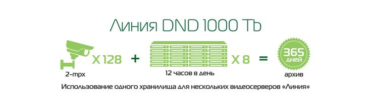 «Линия» DND 1000 Tb