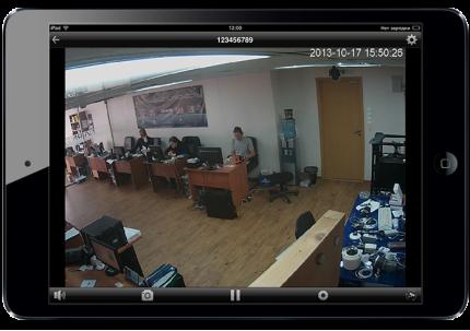 Відеонагляд на iPad